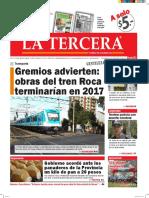 Diario La Tercera 19.05.2016
