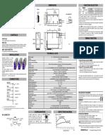 TLµ Contrastsensors Manual Rev G Eng
