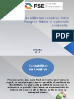 Contabilitatea Creativa Intre Imagine Fidela Si Optiunile Contabile..