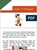 História e Conto Pinoquio Jo