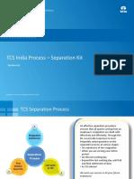 TCS India Process - Separation Kit