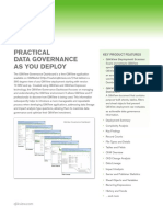 DS Practical Data Governance as You Deploy En