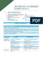 PLANIFICACIÓN DE LA UNIDAD DIDÁCTICA II  ( 1° - 5° )
