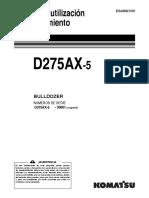 D275AX-5  ESP.  ESAM021501