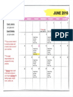 Summer Softball Practice Schedule