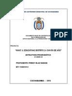 Propuesta Mantenimeinto Unidades Educativas d. 14 Revisar