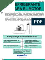 Manual Refrigerante Motor Maquinaria Komatsu Agua Sistema Enfriamiento Valvulas Diagnostico Recomendaciones
