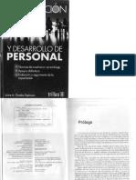 Capacitacion y Desarrollo de Personal 4a. Ed. = Jaime A. Grados Espinosa