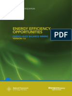 Energy Mass Balance Mining