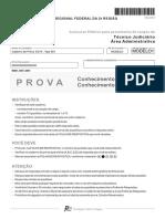 Fcc 2012 Trf 2 Regiao Tecnico Judiciario Area Administrativa Prova