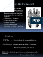 Control Interno - Diapositivas
