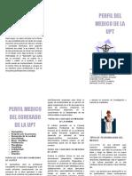 Triptico Perfil Del Medico