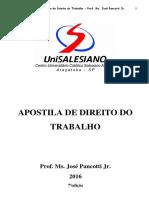 Apostila de Direito do Trabalho 2016.pdf