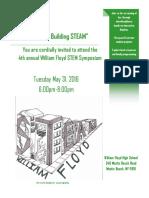 STEM Symposium Flyer