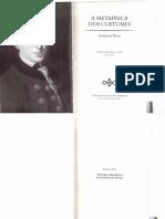 Kant. RL. Direito Privado - Introdução, 1-9§ e § 15