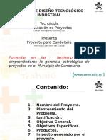 Presentacion de Proyecto 2 de Julio 2015
