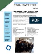 DECA Newsletter