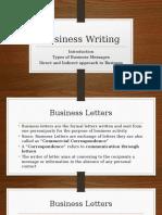 Module 1 Business Writing