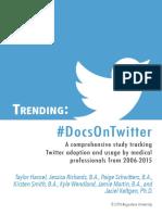 #DocsOnTwitter