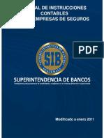 Manual de Instrucciones Contables Para Empresas de Seguros