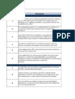 Autoevaluación ISO 9001 de 2015