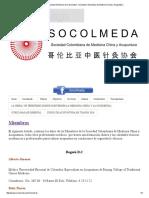 Sociedad Colombiana de Medicina China y Acupuntura