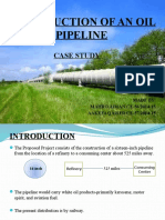 Construction of an Oil Pipeline