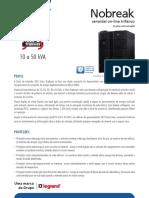 Catalogo de Nobreak SMS Sinus Triphases 10a50kva CATALIN26501 (20150504)