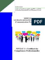 Module Le Francais Dans l'Entrprise v2