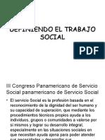 Definiendo El Trabajo Social