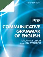 A Communicative Grammar of English-Third Edition