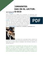 Otras Corrientes Centradas en El Lector