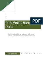TRANSPORTE AEREO 2016