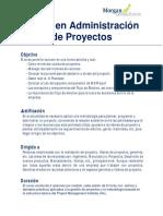 Gestión y Administración Efectiva de Proyectos