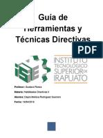 Guía de Herramientas y Técnicas Directivas