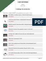 Catalogo de Productos Camsistemas 2007