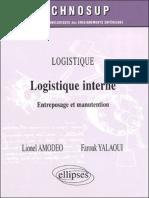 Logistique Interne Entreposage Et Manutention
