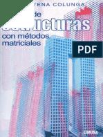 Análisis de Estructuras Con Métodos Matriciales - Colugna