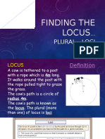 finding the locus