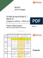 Semiotica de La Imagen u3 Sesiones 9 10 11 12 13 y 14