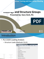 Loadings and Structure Groups