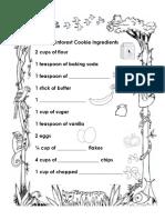 Rainforest Recipe