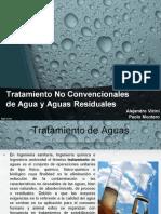 Tratamiento No Convencionales de Aguas