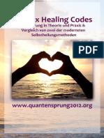 Healing Codes Kurzanleitung