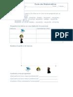 Guía de Estadistica 3°