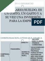 Compensacion Adm de Salarios