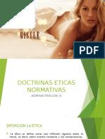DOCTRINAS ETICAS NORMATIVAS