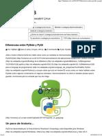 Diferencias Entre PySide y PyQt _ HumanOS