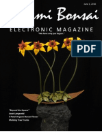 """Origami Bonsai Electronic Magazine """"Beyond the Square"""" Vol 2 Iss 3"""