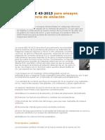 Nueva IEEE 43-2013 Para Ensayos de Resistencia de Aislación